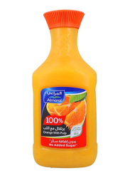 Al-Marai Orange Juice with Pulp, 1.5 Liters