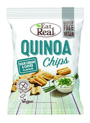 Eat Real Quinoa Sour Cream & Chives Chips, 80g