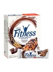 Nestle Fitness Chocolate Breakfast Cereal Bar, 6 Bars x 23.5g