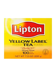 Lipton Yellow Label Tea, 100 Tea Bags x 2g