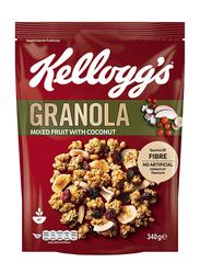 Kellogg's Granola Mixed Fruit with Coconut, 340g