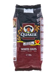 Quaker Quick Cooking White Oats Foil Bags, 500g