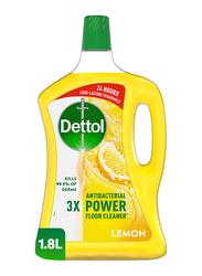 Dettol Lemon Floor Cleaner, 1.8 Liter
