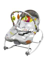 Asalvo Evolutiva 2 in 1 Zeppelin Baby Bouncer Swing, Grey
