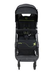 Asalvo Travel Stroller, Black/Green