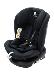 Asalvo Isofix Global Fix Car Seat, Group 0/1/2/3, Black