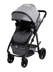 Asalvo Travel System Baby Stroller, Grey