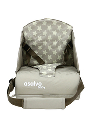 Asalvo Go Anywhere Star Booster Seat, Beige