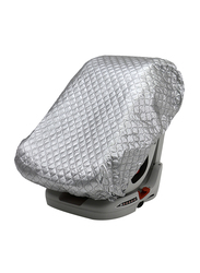 Asalvo Anti UVA Cover for Car Seats, Grey