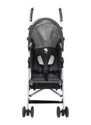 Asalvo Yolo Zebra Stroller, Black/Grey
