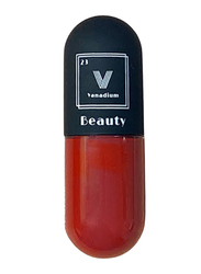 Vanadium Beauty Matte Lipstick, F09 Dragon, Red