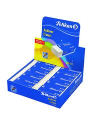 Pelikan 20-Piece AL 20 Radierer Erasers Set, White
