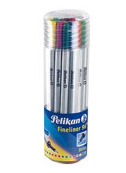Pelikan 96 Fineliner Pen Set, 20 Pieces, Multicolor