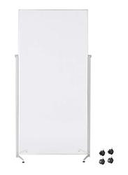 Magnetoplan Acrylic Room Divider Evolution, White