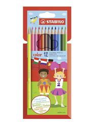 Stabilo Color Pencil Set, 12 Pieces, Multicolor