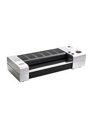 Vivid Peak UK/Pro A3 Hot Laminator, PP-330, Grey/Black