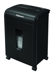 Fellowes 62MC 10-Sheet Micro Cut Paper Shredder with Safety Lock for Home and Office, Black
