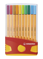 Stabilo 20-Piece Point 88 Ballpoint Pen Set, Multicolour