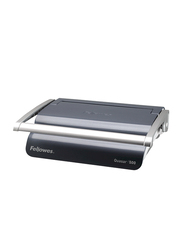 Fellowes Quasar 500 Manual Comb Binding Machine, Grey/Silver