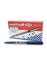 Uniball 12-Piece UB-150 Eye Micro Roller Ball Pen Set, 0.5mm, 162545000, Blue
