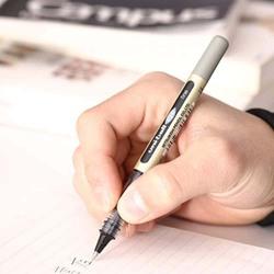 Uniball 10-Piece Eye Micro Pen Set, 0.5mm, MI-UB150-BK-10P, Black