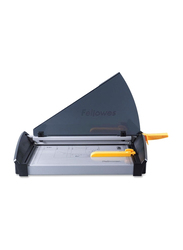 Fellowes Manufacturing Plasma Trimmer, 40 Sheets Capacity, Metal Base, 5411102, Silver/Black