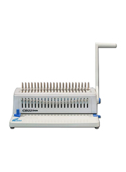 Eagle Spiral Binding Comb-Manual Machine, CB-221 Plus, Grey