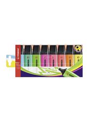 Stabilo 8-Piece Boss Original Highlighter Pen Set, 2mm/5mm, Assorted Color