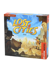 Super Heated Neurons Lost Cities Duel Board Game