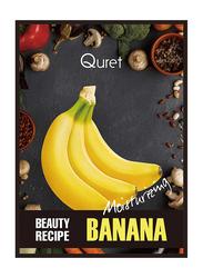 Quret Banana Moisturizing Beauty Recipe Mask, 25g
