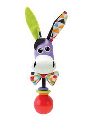 Yookidoo Donkey Shake me Rattle, Multicolour