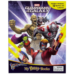 Marvel Guardians Of The Galaxy My Busy Books, Paperback Book, By: Phidal Publishing Inc.