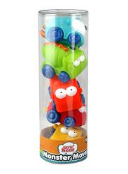 Little Hero 5-Piece Monster Mover Bath Toy, Multicolour