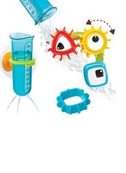 Yookidoo Spin N Sort Water Gear Bath Toy, Multicolour