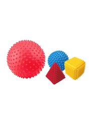 Little Hero 4-Piece Sensory Colored Shapes Sorter, Multicolour