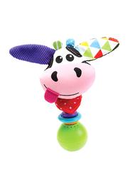 Yookidoo Cow Shake me Rattle, Multicolour