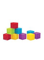 Little Hero 9-Piece Soft Blocks, Multicolour