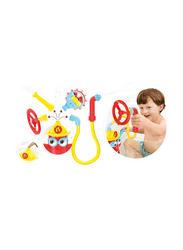 Yookidoo Ready Freddy Spray N Sprinkle Bath Toy, Multicolour