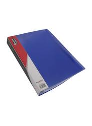 Foldex FX 148 Clear Display Book, 80 Pocket, A4 Size, Blue/Clear
