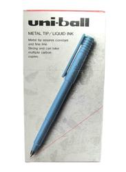 Uniball 12-Piece Ball Pen Set, UB-100, Red