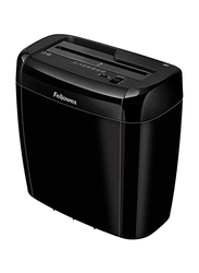 Fellowes Powershred 36 C Cross Cut Personal Paper Shredder with Safety Lock, 6 Sheet, Black