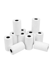 Hollywood Store Pos Receipt Thermal Roll Paper, 30 Rolls, 8 x 8 cm size, White