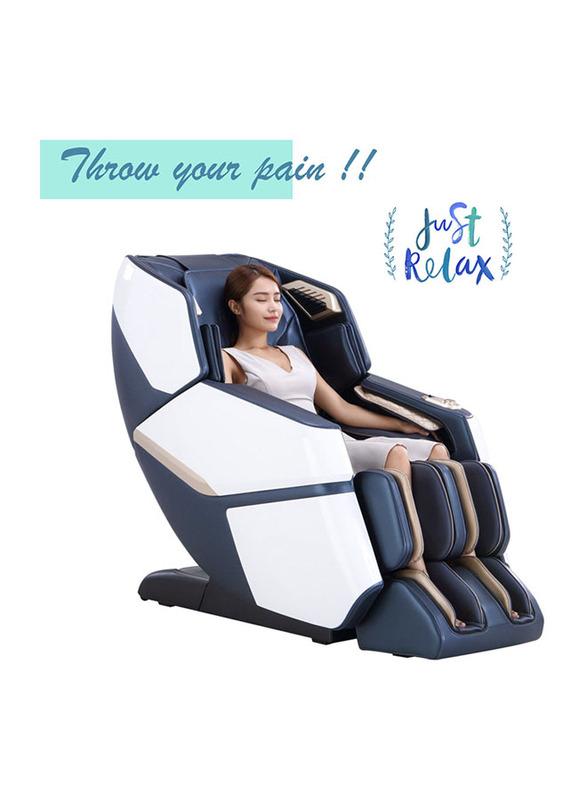 Rotai Smart Leisure Massage Chair, Blue/White