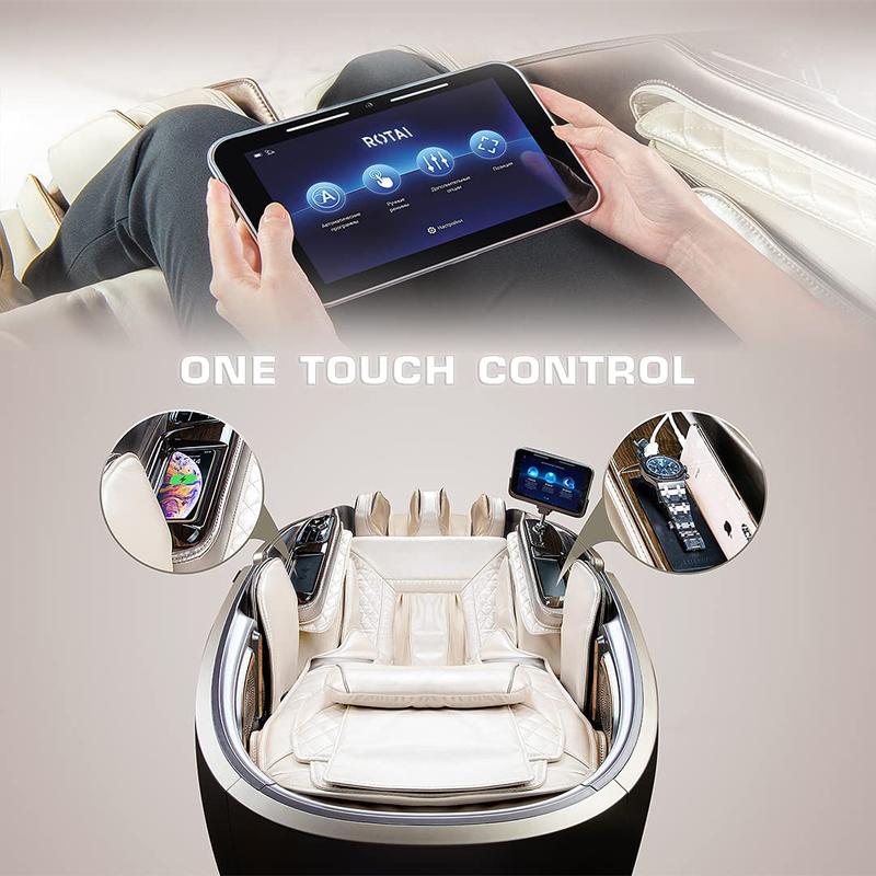 Rotai Gemini Massage Chair, Champagne
