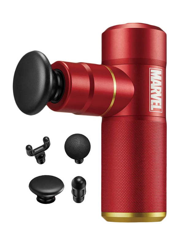 Rotai Marvel Iron Man Massage Gun, Red