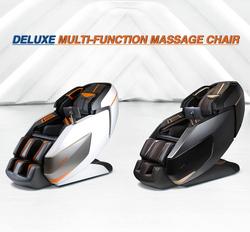 Rotai Deluxe Multi Function Massage Chair, Orange/White/Black