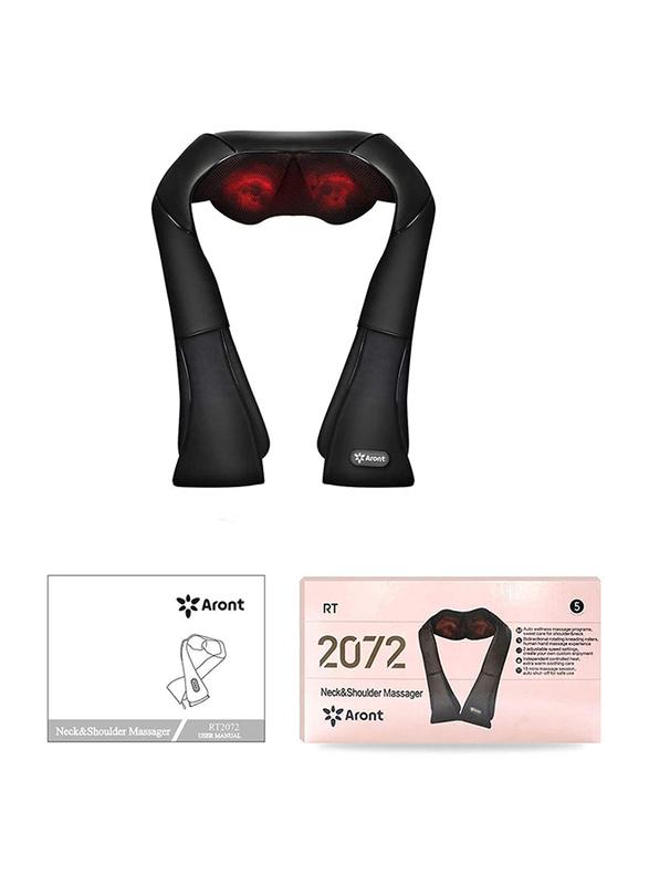 Rotai Shiatsu Neck & Shoulder Massager, RT2072, Black