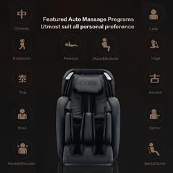 Rotai Multi Functional Leisure Massage Chair, Black