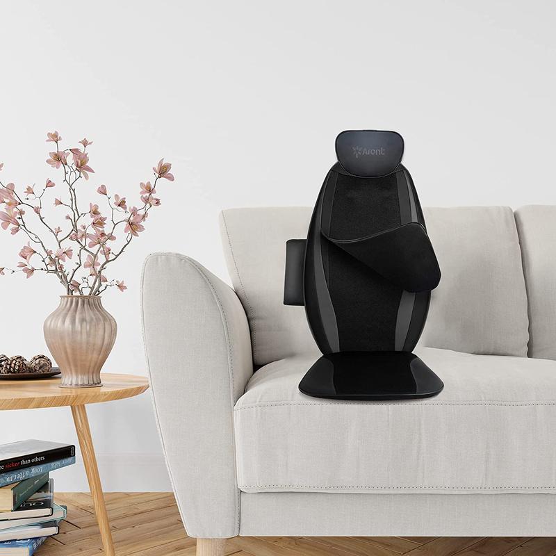 Rotai Shiatsu Back Massage Cushion with Heat, RT2506, Black