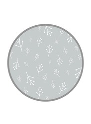 Mums & Bumps Dreamgenii Floral Printed Pillow Cover, Grey